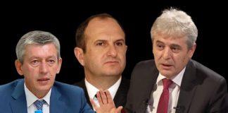 Маѓар телеком, Владо Бучковски, Муса Џафери, Али Ахмети