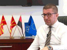 христијан мицкоски, промена на името, членство во НАТО