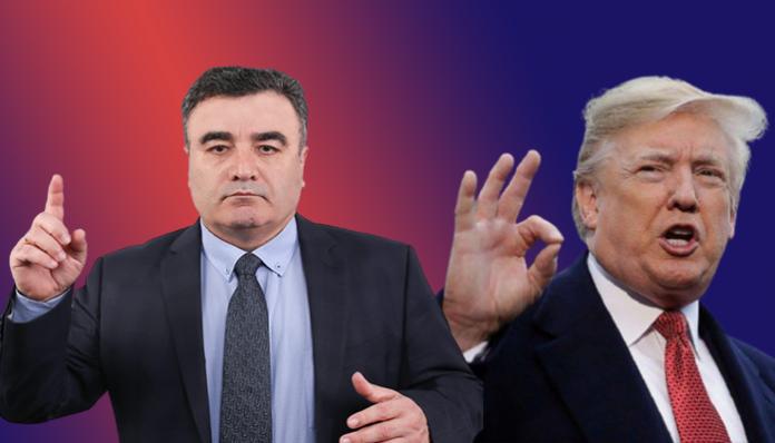 Јанко Бачев, Доналд Трамп